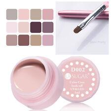 13Pcs/Set 5ml Nail Gel Polish UV Gel Brush Soak Off Nail Art Varnish  Color