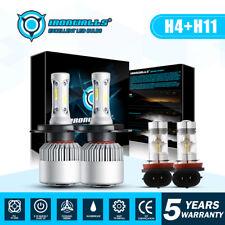 LED Headlight Kit 9003 H4 Fog Light H11 for 07-14 Honda CR-V Toyota Tundra 14-17