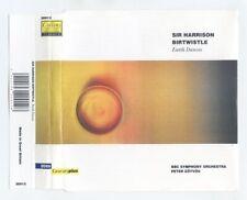 SIR HARRISON BIRTWISTLE - EARTH DANCES - BBC Symphony Orchestra - CD