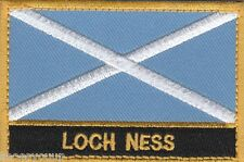 Loch Ness Scotland Town & City Embroidered Sew on Patch Badge