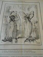Typo 1890 Une Robe Papillon au Vernissage
