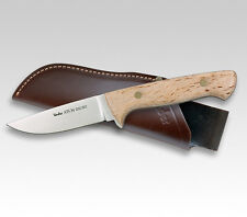 "LINDER GERMAN ATS34 KARELIA HUNTER KNIFE / BIRCH WOOD / 3.94"" BLADE * NEW *"