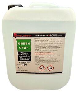 Grünbelagentferner 10 Liter PREMIUM Green Stop  KONZENTRAT