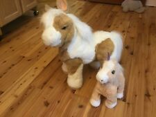 FurReal Friends Baby Butterscotch Show Pony, & Small Butterscotch Walking Pony