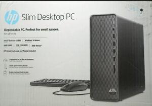 HP Slim Desktop PC S01-pF1013w Intel Celeron, 3.4GHz, 4GB, 1TB, Brand New