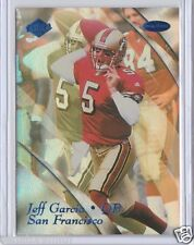 Calgary Stampeders CFL HOF QB Jeff Garcia 1999 Collector's Edge Masters RC /2000