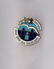 Pin's ligue havraise (le Havre) pour l'aide aux handicapés (EGF)