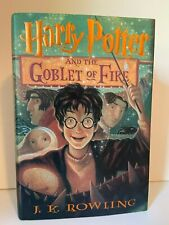Harry Potter And The Goblet Of Fire First Edition Hardback Book