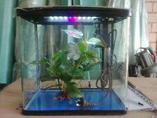 S400 mini fish tank aquarium with LED light