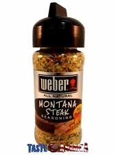 Weber Montana Steak Seasoning 107g American Import BBQ Barbecue Bar-B-Q