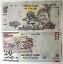 2012. MALAWI. Interesantísimo billete de 20 Kwacha. SIN CIRCULAR. Pick New