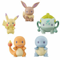 Bandai Pokemon Gashapon 2019 Pikachu Eevee Charizard Squirtle 1 Rnd Mini Figure