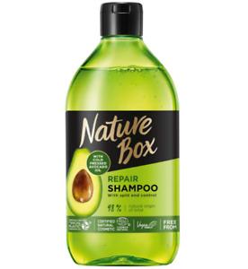 Nature Box Avocado Repair Hair Shampoo 385ml Hydration Regeneration Nourishing