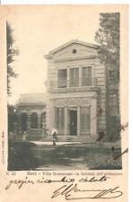 N.13  BARI - Villa Romanazzi - la facciata dell'abitazione_FOTOTIPIA LOPEZ RRARA