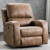 """Electric Power Recliner Chair with USB Interface 21""""W  Padded Seat Lounge Sofa"""