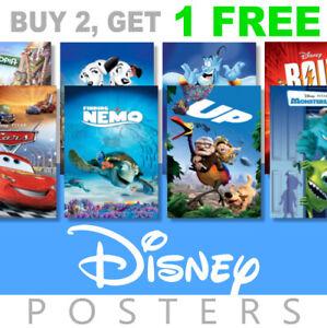 Disney Cartoon/Animation Kids Movie Poster, A4, A3 Photo, Prints, Art, Film