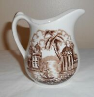 Vintage MADDOCK ENGLAND BOMBAY Hand Engraved Creamer - from Estate