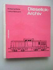 Diesellok-Archiv Diesellokomotiven der Deutschen Reichsbahn-Gesellschaft ...1970