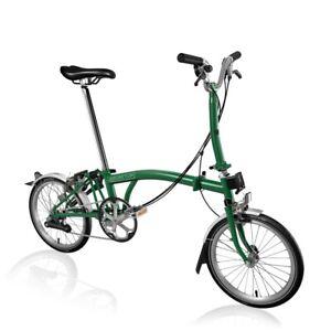 Brand New Brompton M6L in British Racing Green 2020 folding bike - SHIPPING 🌎
