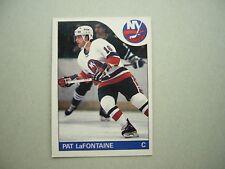 1985/86 O-PEE-CHEE NHL HOCKEY CARD #137 PAT LAFONTAINE EXNM NM SHARP!! 85/86 OPC