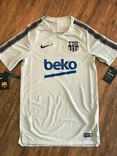 Nike FC Barcelona Fussball Shirt   Neu   Nike   Grau   Größe S