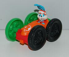 "1991 Elmyra Duff & Buster Bunny 3"" McDonald's Flip Car #2 Tiny Toon Adventures"