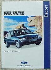 FORD ESCORT MEXICO Car Sales Brochure June 1995 #FA 1225