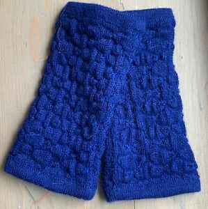 Moderne Pulswärmer aus 100% Baby Alpaka Wolle Einzelstück
