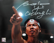 """Bolo Yeung """"Chong Li"""" Autographed Bloodsport """"You Are Next"""" 8x10 Photo ASI Proof"""
