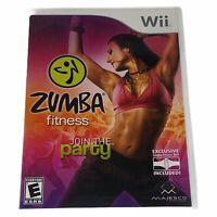 Zumba Fitness Nintendo Wii Complete w/Manual CIB