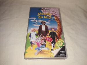""" K7 VIDEO VHS MELODIE DU SUD WALT DISNEY"