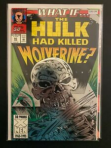 What If… 50 Hulk had Killed Wolverine High Grade Marvel Comic Book CL91-138