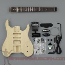 Bargain Musician - GK-028 - DIY Unfinished Project Luthier Guitar Kit