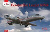 Amodel 72325 - 1/72 Bombardier Learjet 60XR, scale plastic model kit