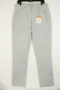 Puma Men's Performance Fit Golf Jackpot Straight Leg Pants Sz 32/32 Gray