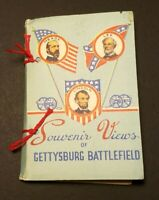 Antique Rare Civil War Souvenir Views of Gettysburg Battlefield Cards 20 Count