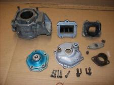 Aprilia rs125 rotax 122 engine top half cylinder barrel head inlet reed block