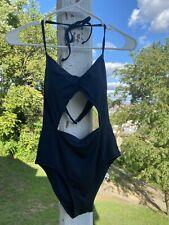 New W/ Tags Abercrombie And Fitch Navy One Piece Xs Pretty Swimwear