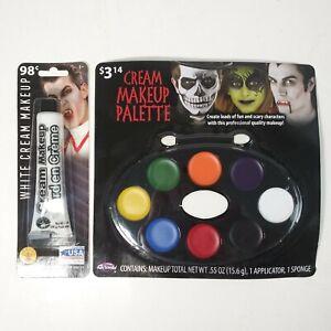 Halloween Makeup Kit Cream Face Paint With Sponge