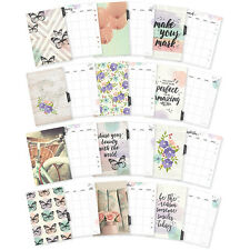 Simple Stories BLISS A5 MONTHLY PLANNER INSERTS - Carpe Diem (fits Filofax etc)