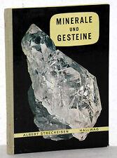 Albert Streckeisen - MINERALE und GESTEINE