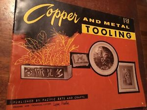 Copper And Metal Tooling Booklet Published By Pacific Arts And Crafts