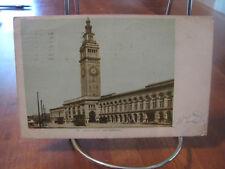 """1905 """"Union Depot San Francisco"""" Postcard"""