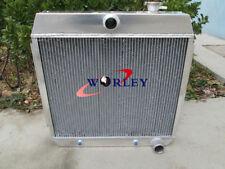 3 Row Aluminum Radiator For Chevy Bel Air V8 W/Cooler 1955 1956 1957 55 56 57