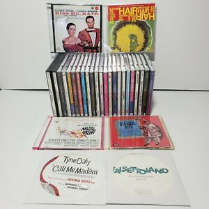 28 Musical Soundtracks / Theatrical CDs