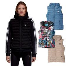 adidas Originals Damen-Weste Daunenweste Winterweste Slim Vest Steppweste