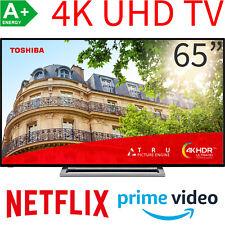 Toshiba 65 Zoll 4K UHD Smart TV LED HDR HDR10 HLG WLAN Bluetooth Fernseher 164cm