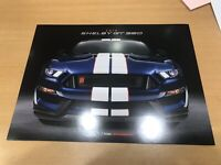 2018 Ford Mustang Shelby GT 350 Sales Brochure