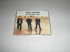 NEW ORDER MAXI CD PROMO GET READY INTERVIEW 2001