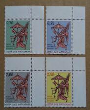 VATICANO 2013 Sede Vacante 4 francobolli